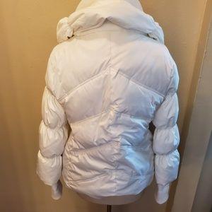 Steve Madden Jackets & Coats - Steve Madden White Puffer Jacker Coat